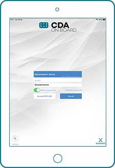 CDA ON BOARd login e profilazione